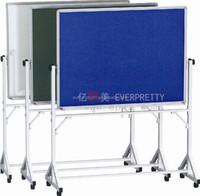 School Classroom Furniture Cork Soft Board School Mobile Bulletin Pin Board