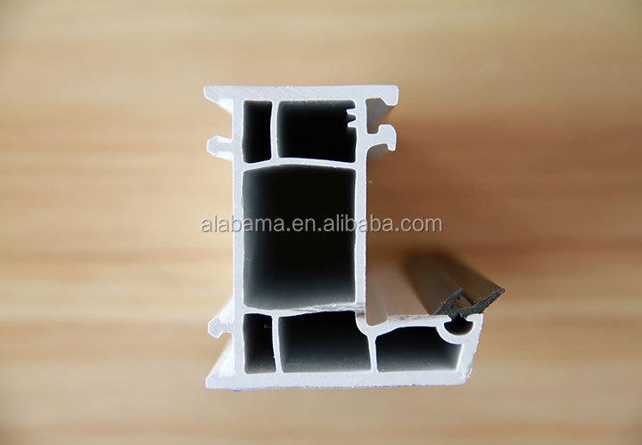 Construction Customized upvc window grill design profile