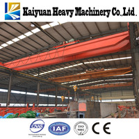 Widely Used lifting equipment16t double beam electric block overhead crane for Kenya