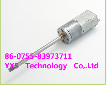 Full metal micro super long axis gear motor 35-70RPM 6V-12 V DC Gear Motor