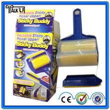 High quality sticky buddy roller/washable sticky roller/sticky lint roller