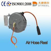 automatic spring air hose reel plastic shower hose extension