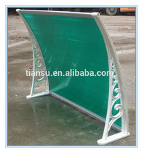 Waterproof Polycarbonate awning canopy with UV Protection SGS test