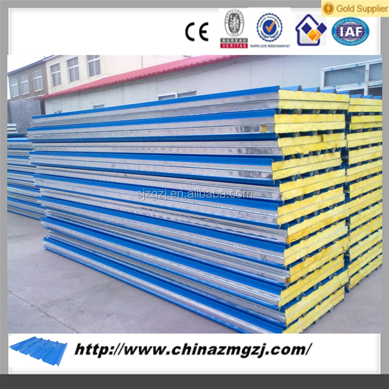 Sandwich Panels Types : Eps sandwich panels type and metal panel material