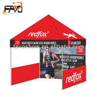 Folding Frame Canvas Canopy Tent
