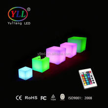 led light cube waterproof LED cube chairs, LED ice cube