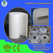 De cerámica de fibra de aislamiento de papel para tubería de vapor