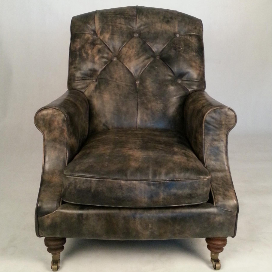r tro traditionnel anglais chesterfield canap chaise en cuir vieilli canap salon id de produit. Black Bedroom Furniture Sets. Home Design Ideas