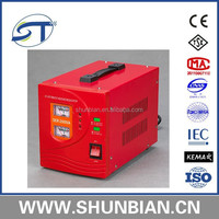 DER Relay type 5kw stabilizers from zhejiang st group with wide input voltage range