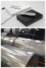 Set top box case made by prepainted steel sheet
