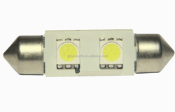Alibaba China smd 5050 festoon auto led lights