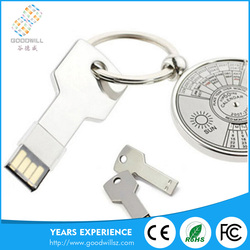 OEM no driver key shape usb flash drive 8gb