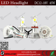 45W LED Lamp Type and CE ROHS E-MARK headlights accessories toyota vios