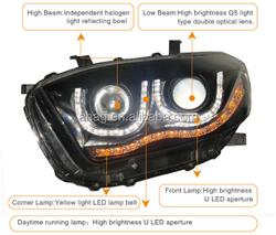 LED car HID auto head lamp used for Toyota Highlander 2009-2011