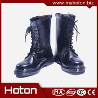 Multifunctional Fire Fighting Safety Boots with steel toe with CE certificate