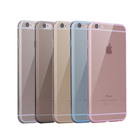 TOP seller wholesale multicolor 0.3 mm Ultra thin TPU cover for iphone 6s,for iphone 6s clear TPU cover,clear case for iphone 6s
