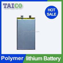 High energy li-polymer 3.7v 800mah battery pack for vacuum machine
