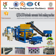 Best selling product in africa QT4-25 full automatic paver block production line/ paving concrete brick machinery