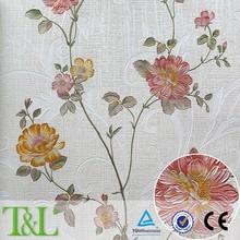 Beautiful PVC wallpaper heavy embossed papel de parede