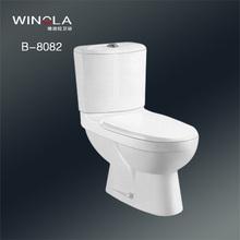Winola single hole dual flush toilet