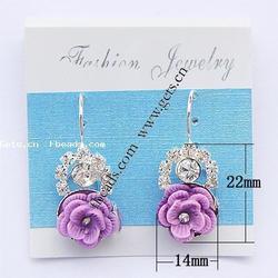 Gets.com rhinestone ear cuff clip earring