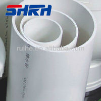 Blue color cheap plastic 3 inch pvc pipe fittings