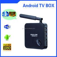 XBMC 8GB WiFi Full 1080P HD Media Player F6 Quad Core Android 4.4 Smart TV BOX