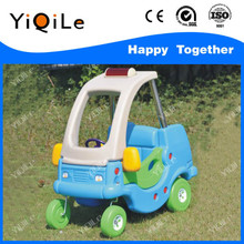 Kid plastic race car for preschool kids