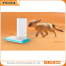 real capacity 10400mah portable power banks for mobile phones and USB devices