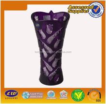 Chinese Hot Sale Glass Purple Vase