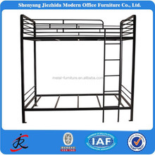 Wholesale double decker l shaped metal adult cheap bunk beds