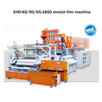 automatic 1500 mm three layer pe stretch film extruder