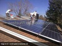 BESTSUN 6000w hot sale new design solar panels system wholesale china