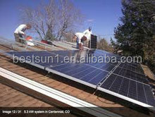 BESTSUN 6000w hot sale new design solar panels system wholesale china