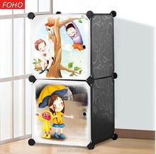 2 black magic cubes plastic closet organizers for baby and children