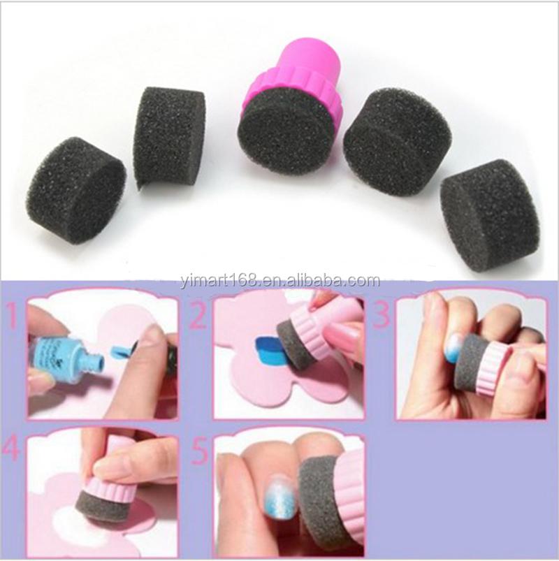 Yimart Nail Art Gradient Stampergradient Nails Sponge For Gradient
