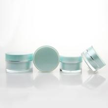PET plastic cosmetic packaging cream jar,Luxury Diamond Shape Snail Cream 50g Container