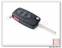 Folding key blanks wholesale for Audi 3+1 Button Flip Key 433MHz AK008010
