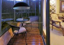 Energy saving light source iron capiz shell pendant lamp, Europe simple design pendant
