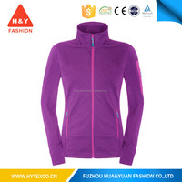 Outdoor winter latest fashion purple summer thin plain baseball fleece jacket for womens -7 years alibaba experience