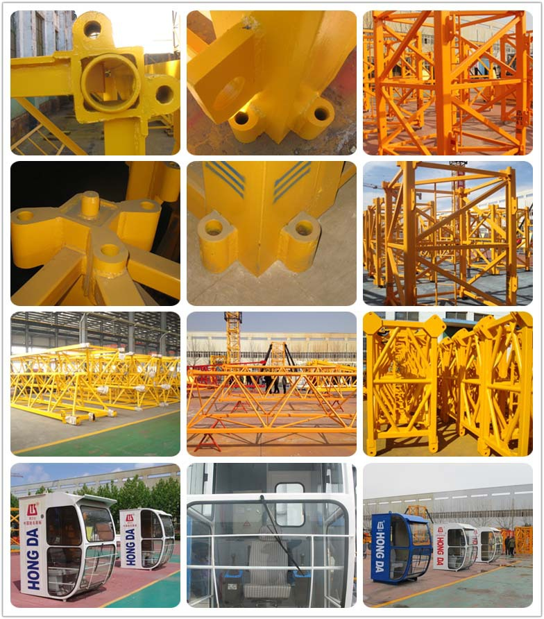 Hot Sale Travelling Tower Crane