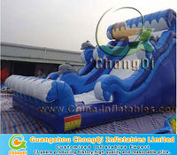 latest design lake inflatable water slides