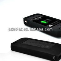LY-B1015 Portable Mobile Phone Solar Charger Case Black For Iphone4