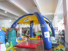 high quality cheap 4 legs inflatable advertisements tent for sale