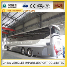 CHINA SINOTRUCK high quality passenger 60 seater bus coach bus price luxury bus open top bus