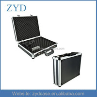 Portable PVC hard handgun lock Box durable aluminum pistol case, ZYD-SZ261