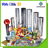 Metallized Mirror Polyester Mylar Silver CPP Film for Packaging Printing