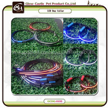 Glow Castle LED Flash Dog Collar&Lead For Small Puppy