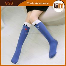 New arrival heated socks wholesale factory girls light up socks fashion cartoon socks