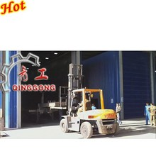 Abrasive Blasting Room/Booth/Chamber/Equipment with abrasive recycle and dust collector system